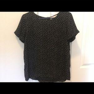 Loft polka dot blouse - small